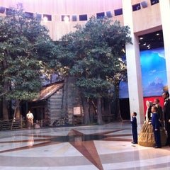 Photo taken at Abraham Lincoln Presidential Museum by Tyler T. on 10/13/2012