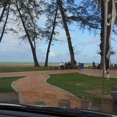 Photo taken at Pantai Batu Buruk by aintantuya on 3/7/2013