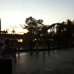 Photo taken at Canobie Lake Park by Kate H. on 7/30/2013