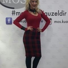 Photo taken at MOS Kuaför by Nazli H. on 1/3/2015