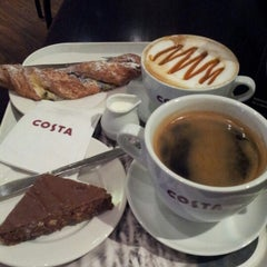 Photo taken at Costa Coffee by Kathy M. on 10/24/2012