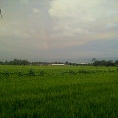 Photo taken at Jalan Raya Bandung by Galih R. on 1/29/2013