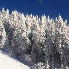 Photo taken at Sommet du Mont-Tremblant Summit by Emiliano M. on 2/17/2013