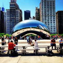 Photo taken at Millennium Park by Claire S. on 6/4/2013