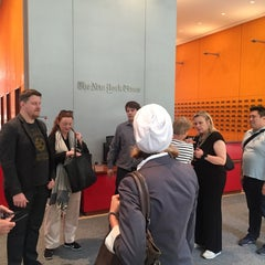 Photo taken at New York Times Building by Holger S. on 6/29/2015