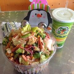 Photo taken at Blatt Salat Haus by Lulu S. on 1/2/2014
