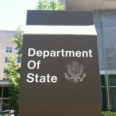 Photo taken at U.S. Department of State, Harry S Truman Building by Matt W. on 5/1/2013