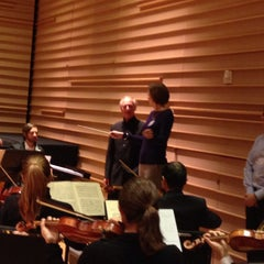 Photo taken at DiMenna Center for Classical Music by Jim M. on 11/18/2014