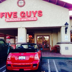 Photo taken at Five Guys by Nikhil A. on 4/29/2014
