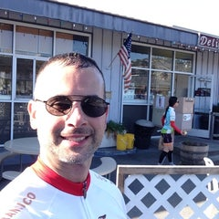 Photo taken at Shark's Deli by Jose C. on 1/19/2014