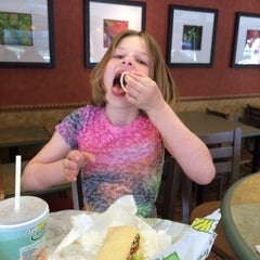 Photo taken at SUBWAY by Justin D. on 6/21/2014