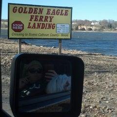 Photo taken at Golden Eagle Ferry by Kaitlin (Irish) G. on 11/17/2013