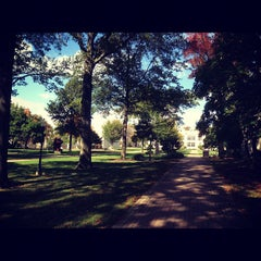Photo taken at College of Wooster by Damien G. on 10/6/2012