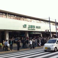 Photo taken at JR 上野駅 (Ueno Sta.) by tjgreenhouse on 3/23/2013
