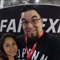 Photo taken at UFC Fan Expo by Nicholas W. on 7/10/2015