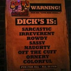 Photo taken at Dick's Last Resort by Dakota P. on 4/12/2013