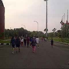 Photo taken at Jakabaring Sport City (JSC) by Keziathala A. on 2/14/2015