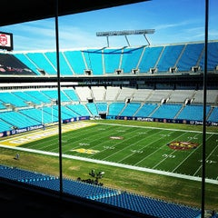 Photo taken at Bank of America Stadium by Matt B. on 11/30/2012