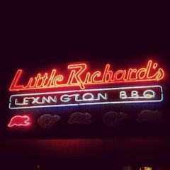 Photo taken at Little Richard's Lexington BBQ by Matt B. on 12/19/2012