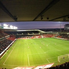 Photo taken at The City Ground by Jon M. on 12/8/2012