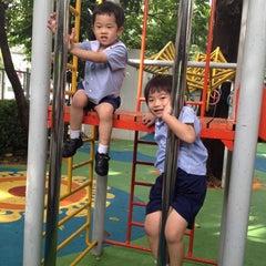 Photo taken at Playground by Pat B. on 9/28/2012