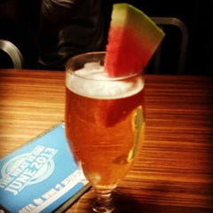 Photo taken at Boston Beer Works by Joanna S. on 6/28/2013
