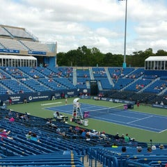 Photo taken at Connecticut Tennis Center by Jack P. on 8/23/2015