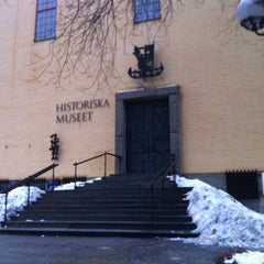Photo taken at Historiska Museet by Anastasiya S. on 12/30/2012