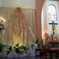 Photo taken at Gereja Katolik Kristus Raja by Reina H. on 5/19/2013