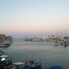Photo taken at Λιμάνι Ηρακλείου by Misha X. on 7/10/2013