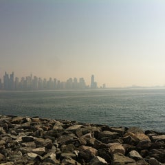 Photo taken at Palm Jumeirah Frond C by Arwa A. on 1/22/2013