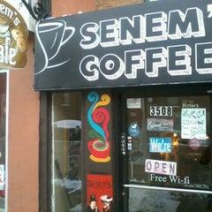 Photo taken at Senem's Coffee & Tea House by Chris V. on 2/6/2013