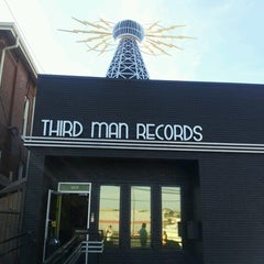 Photo taken at Third Man Records by Tasha Y. on 12/1/2012