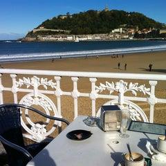 Photo taken at Café de La Concha by Juan Manuel A. on 11/2/2012