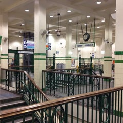 Photo taken at St James Station by Bart V. on 10/15/2013