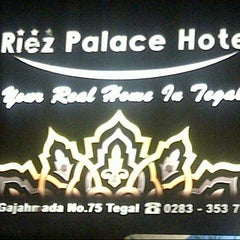 Photo taken at Riez Palace Hotel by Andrawina Y. on 12/22/2012