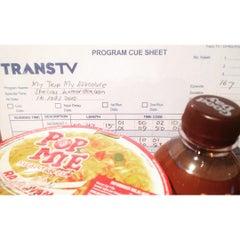 Photo taken at PT. Televisi Transformasi Indonesia (Trans TV & TRANS7) by Jonah L. on 8/16/2015