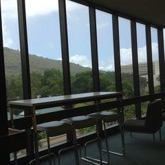 Photo taken at Hamilton Library by Jen G. on 7/1/2013