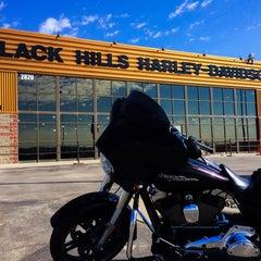 Photo taken at Black Hills Harley-Davidson by Chris L. on 10/9/2014