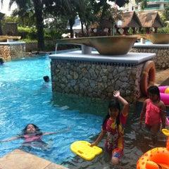 Photo taken at Swimming Pool - The Ritz Carlton 5th Floor Kuningan by Adhi R. on 7/31/2014