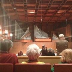 Photo taken at Paul Recital Hall at Juilliard by Jay Y. on 12/19/2012