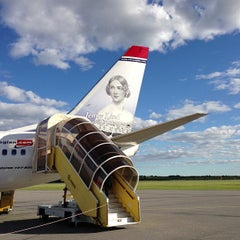 Photo taken at Umeå Airport (UME) by Magnus S. on 6/18/2013