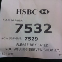 Photo taken at HSBC Bank by Syamsuzzaman n. on 1/13/2015