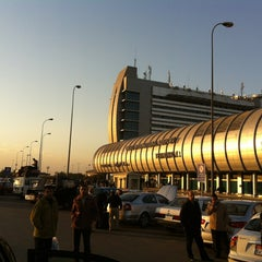 Photo taken at Cairo International Airport (CAI) by Austin on 12/23/2012