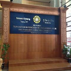 Photo taken at Suruhanjaya Pencegahan Rasuah Malaysia by Hanim H. on 1/13/2015