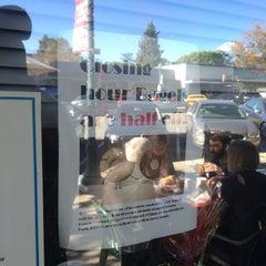 Photo taken at 42nd Street Bagel Cafe by @carolineadobo on 11/28/2015