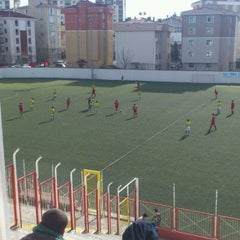 Photo taken at Kartal Bulvar Stadı by Yılmaz D. on 2/3/2013