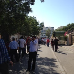 Photo taken at Consulate of Egypt   قنصلية جمهورية مصر العربية by AbdelRahman E. on 5/16/2014