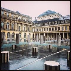 Photo taken at Palais Royal by Valentina G. on 8/7/2013