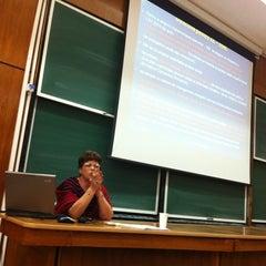 Photo taken at Universitatea Politehnică by Iulian G. on 11/16/2012